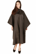 Waterproof Extra Large Black Cape Chemical and Waterproof Cutting & Shampoo Cape size 160cm x 140cm