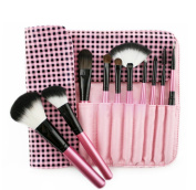 ORVR Brush Professional Makeup Brushes Premium Synthetic Kabuki Makeup Brush Set , Contains 10pcs Cosmetic Powder Brushes & Applicators with Bag Brush Kit
