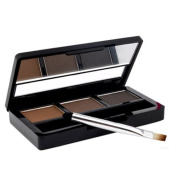AUCH New/Fashion/Charming Colour Natrual Eyebrow Cake Powder,Color2#:Light Coffee/Brown/Dark Coffee