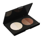 MERSUII™ Professional 4 Colours Cosmetics Contour and Highlighting Powder Foundation Palette