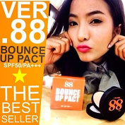 Ver.88 Bounce up Pack Spf50+ Pa Press Powder Waterproof Longlast Mousse Clay