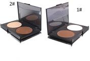 Kolight®2 Colours Makeup Contour Concealer Face Powder Palette