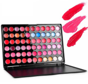 ORVR Professional 66 Colour Lip Gloss Lipstick Makeup Cosmetic Palette Set Contour Palette, Lip Gloss, Highlighting Shades