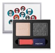 Agatha Paris French Look Book #5 Très Charmante Eye Shadow & Lip Gloss