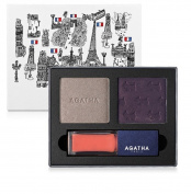 Agatha Paris French Look Book #1 Très Modern Eye Shadow & Lip Gloss