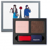 Agatha Paris French Look Book #3 Très Jolie Eye Shadow & Lip Gloss