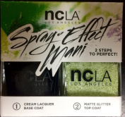 NCLA Night Rider Spray-Effect Mani Duo Kit