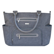 JJ Cole Caprice Nappy Bag - Grey Heather