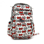 Ju-Ju-Be Be Right Back Hello Kitty Collection Backpack Nappy Bag, Peek A Bow
