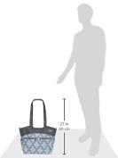 JJ Cole Camber Nappy Bag, Blue Iris