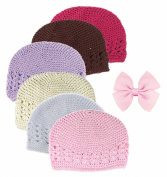 HipGirl Boutique Girls Stretch Headbands and Hats Value Pack