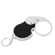 Neon® NO. 6901 5X 45mm Foldable LED Light Pocket Keychain Jewellers Loupe Magnifier