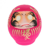 "1pc Japanese 3-3/4dia""pink/love Daruma Doll for Made in Jpan #590-061pk"