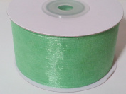 3.8cm Sheer Organza Ribbon - 25 Yards