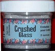 Crushed Glass for Snow effect