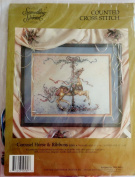 Something Special Counted Cross Stitch Kit ~ Carousel Horse & Ribbons