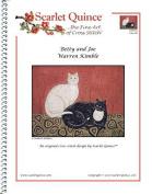 Scarlet Quince KIM001lg Betty and Joe by Warren Kimble Counted Cross Stitch Chart, Large Size Symbols