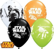 Star Wars Non Message Qualatex 30cm Latex Balloons x 6
