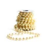 Big Beautiful 12mm Ivory Pearl Bead Garland