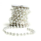 Big Beautiful 12mm White Pearl Bead Garland