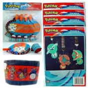 Pokemon Party Decorations Gift Bundle 6-Pack