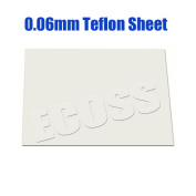 4sheets 0.06mm Teflon Sheet for Heating Press Transfer Machine Heat Resistant