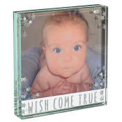 "Spaceform ""Wish Come True"" Small Glass Photo Frame"
