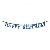 Tattered Lace Metal Die-Washing Line Happy Birthday