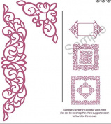 Sue Wilson Dies - The Configuration Collection - Elegant Lace Edger - CED6401