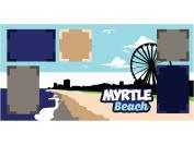 """Myrtle Beach"" Scrapbook Kit"