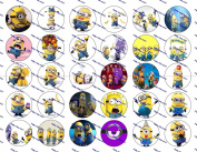 30 Precut Images Minions Set 6 *NEW