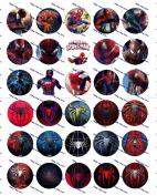 30 Precut Images Spider Man Set 2