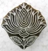 Lorus design wooden block stamp/ Tattoo/Kamal design Indian Textile Printing Block