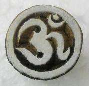 Small Aum Om design wooden block stamp/ Tattoo/ Indian Textile Printing Block