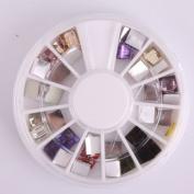 Vip Beauty Shop 3d Nail Art Wheels Glitter DIY Decorations