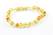 Healing Hazel 100% Balticamber Adult Bracelet, Honey Polished