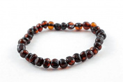 Healing Hazel 100% Balticamber Adult Bracelet, Cherry Polished, 19cm