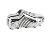 Silver Plated Soccer Boot Child Money Bank By Haysom Interiors