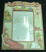 Baby's Baptism Girl Picture Frame 4x6 (2001) 781541