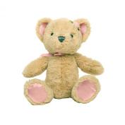 Baby Dumpling Heaven Sent Plush Beanie Bear Rattle, Girl's, 15cm