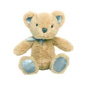 Baby Dumpling Heaven Sent Plush Beanie Bear Rattle, Boy's, 15cm