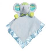 Baby Dumpling Little Fair Plush Snuggle Blankie, Elephant