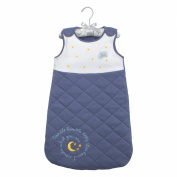 Baby Dumpling Hush Little Baby Wearable Side-Zip Blanket Gift Set, Boy's, Blue, 0-6 Months