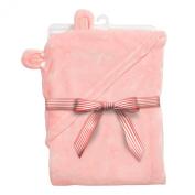 Baby Dumpling Little Fair Hooded Plush Blanket, Pony Ride