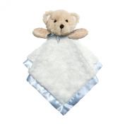 Baby Dumpling Heaven Sent Plush Snuggle Bear Blankie, Boy's, Blue