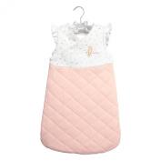 Baby Dumpling Hush Little Baby Wearable Side-Zip Blanket Gift Set, Girl's, Pink, 0-6 Months