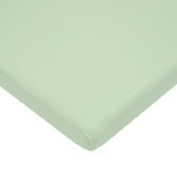 American Baby Company 100% Cotton Value Jersey Knit Cradle Sheet, Celery