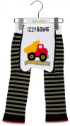 Grey and Black Truck 12-24 Month Baby Leggings