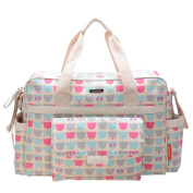 Bellotte Collection Tote Nappy Bag, Polyster, Bears