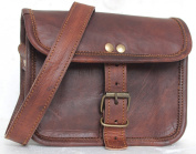 Handolederco. 18cm x 13cm Brown ,Genuine Leather Women's Bag /Handbag / Tote/purse/ Shopping Bag